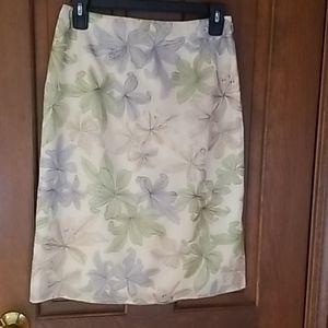 Talbot pure silk lined skirt